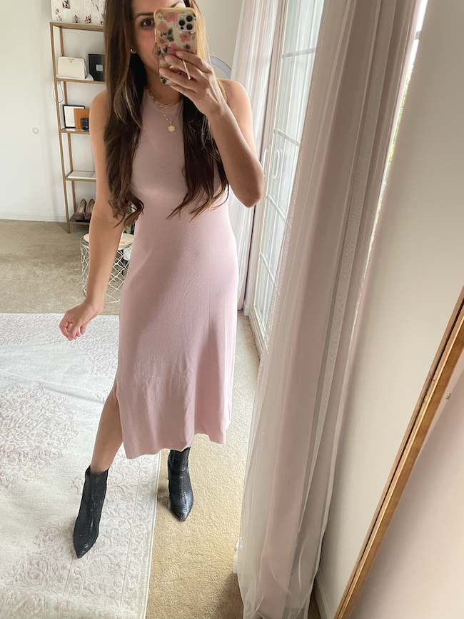 the drop amazon fashion sleeveless sweater dress